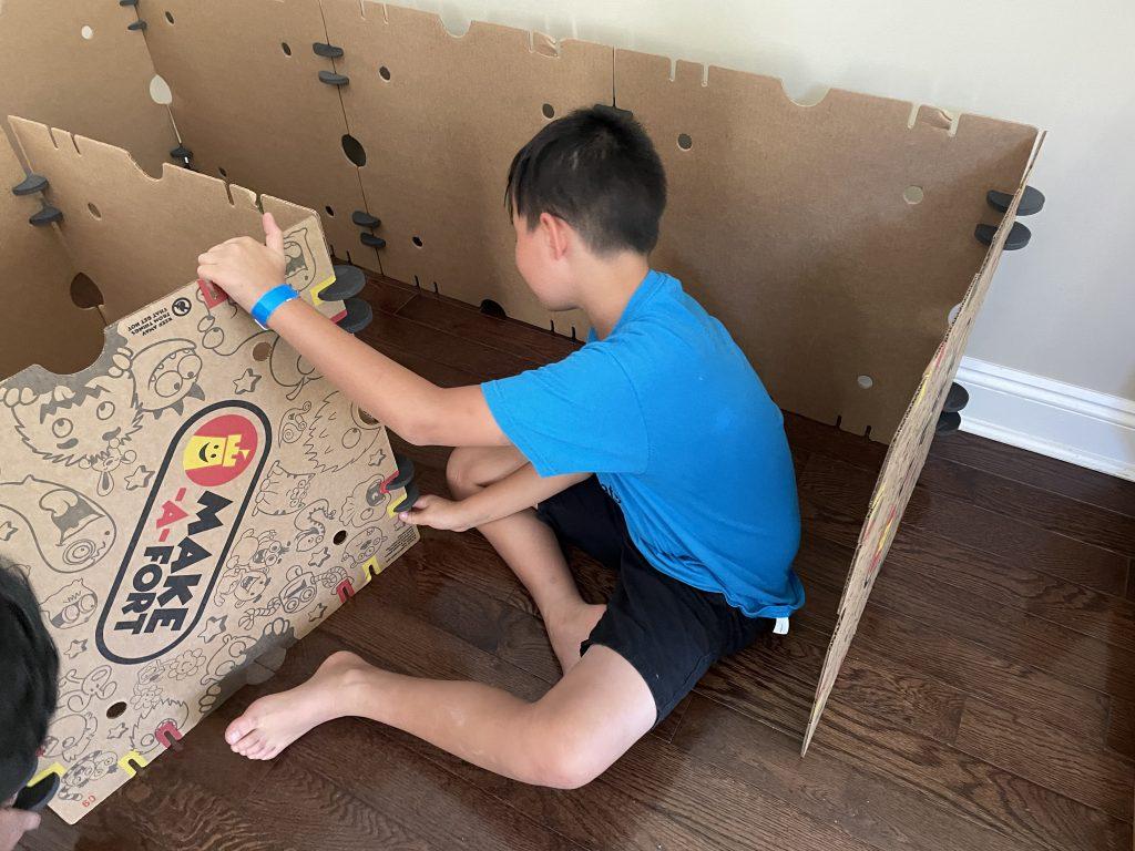 building Make-A-Fort