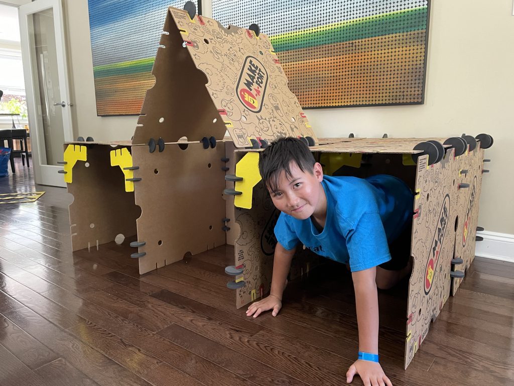 Make-A-Fort house